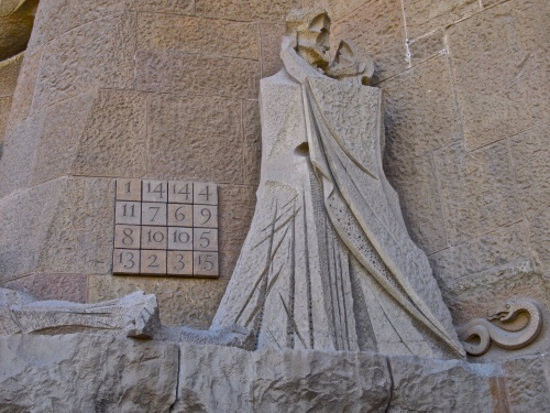 Magic Square at Sagrada Familia